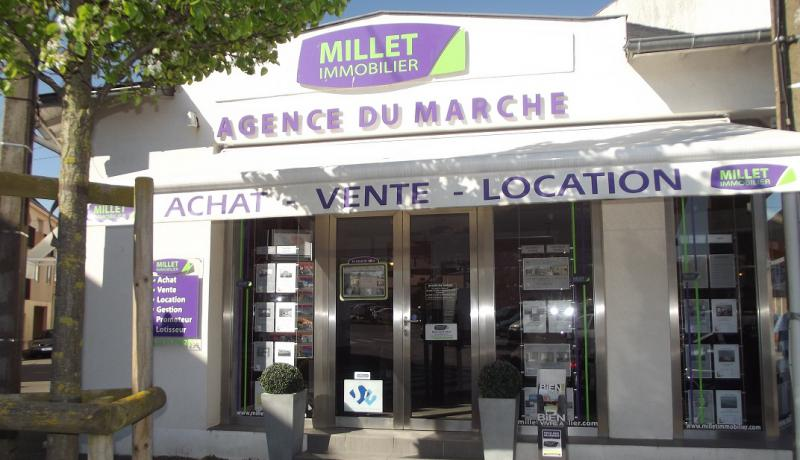 Millet immobilier agence du march agence immobili re for Agence immobiliere 85100